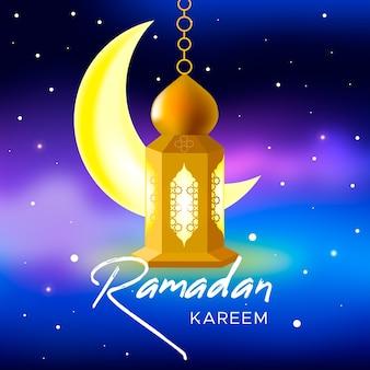 Реалистичная концепция рамадана