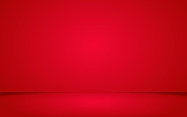 제품 디스플레이 또는 배치에 대한 현실적인 빨간색 배경 발렌타인 장면
