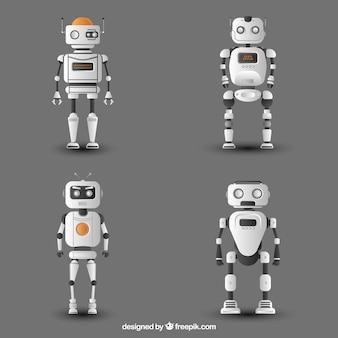 リアルなロボットキャラクターコレクション