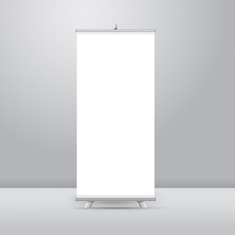 Realistic roll up stand
