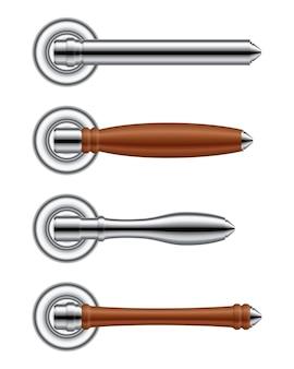 Реалистичная иллюстрация дверной ручки