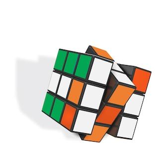 Realistic rubiks cube