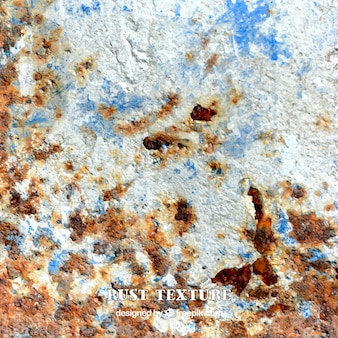 A realistic rusty wall, texture