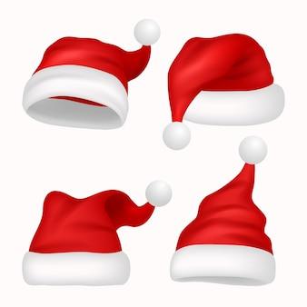현실적인 산타 모자 컬렉션