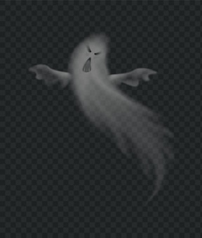 Реалистичный страшный призрак