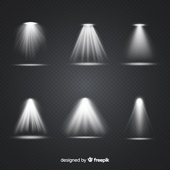 Realistic scene illumination collection