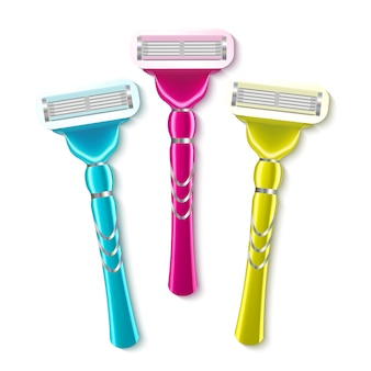 Realistic shaving razor instrument