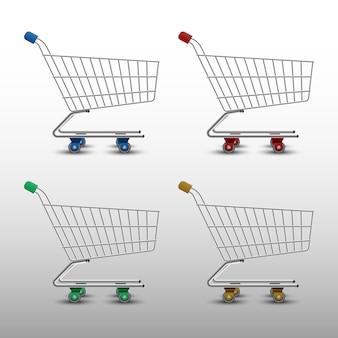 Realistic shopping cart