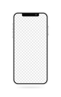 Реалистичный макет смартфона