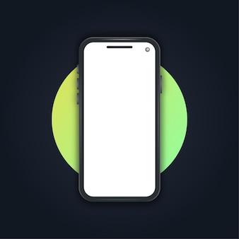 현실적인 스마트폰 목업