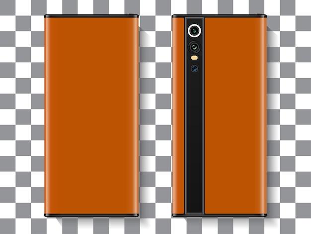 Realistic smartphone modern design