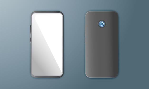 Realistic smartphone Premium Vector
