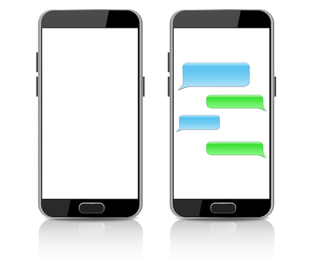 Realistic smartphone