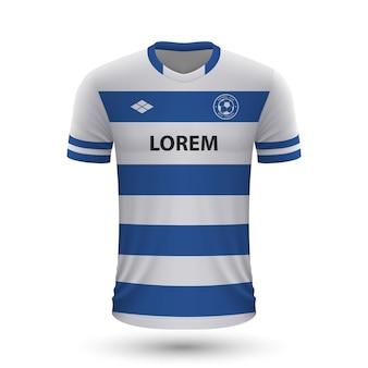 현실적인 축구 셔츠 2022, 축구 키트 저지 템플릿.
