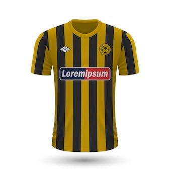 リアルなサッカーシャツaek2022、サッカー気のジャージテンプレート