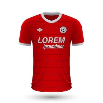 リアルなサッカーシャツazアルクマール2022、足のジャージテンプレート
