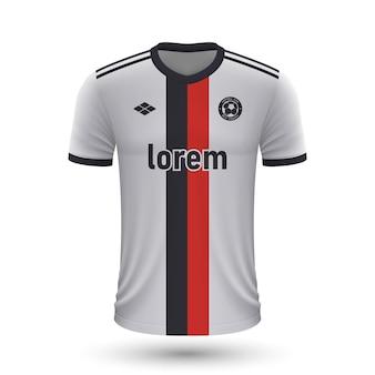 リアルなサッカーシャツbesiktas2022、footbaのジャージテンプレート