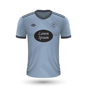 リアルなサッカーシャツcelta2022、サッカー用ジャージテンプレート