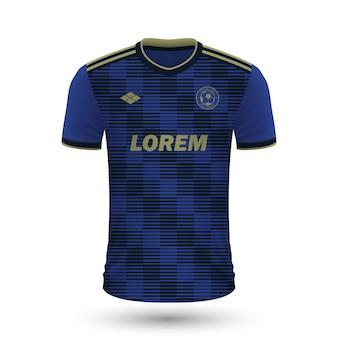 リアルなサッカーシャツdinamozagreb 2022、fのジャージテンプレート
