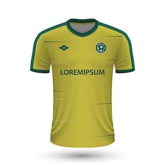 현실적인 축구 셔츠 fortuna sittard 2022, 저지 템플릿