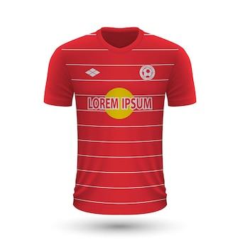 リアルなサッカーシャツレッドブルザルツブルク2022、ジャージテンプレートf