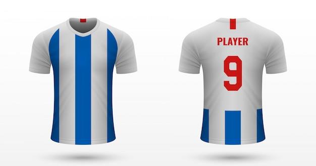 현실적인 축구 셔츠