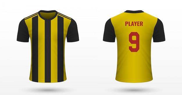 Realistic soccer shirt