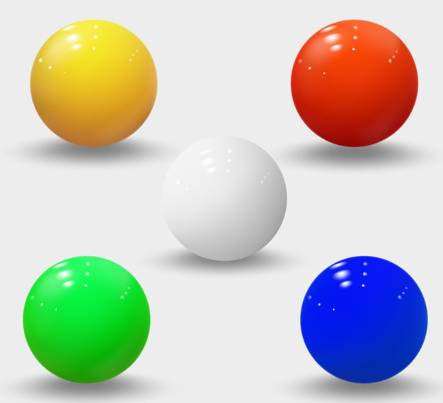 Realistic spheres isolated
