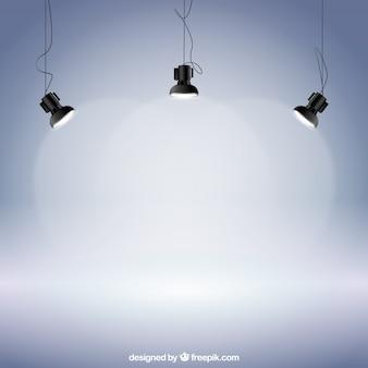 Realistic spotlights