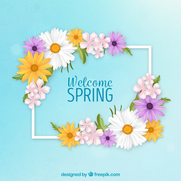 Free Realistic spring background SVG DXF EPS PNG - SVG Cut Files