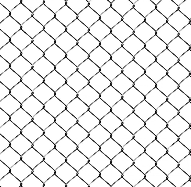 Realistic steel netting