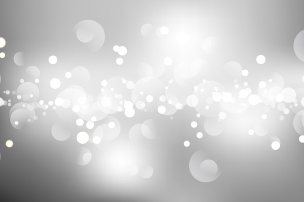 Realistic style glowing background