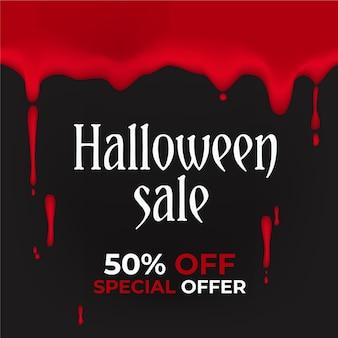 Realistic style halloween sale
