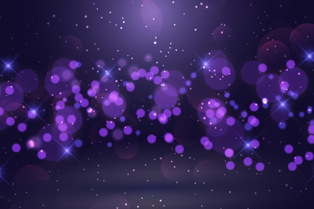 Realistic style light effects background
