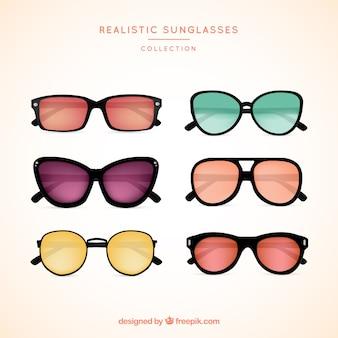 現実的なサングラスコレクション