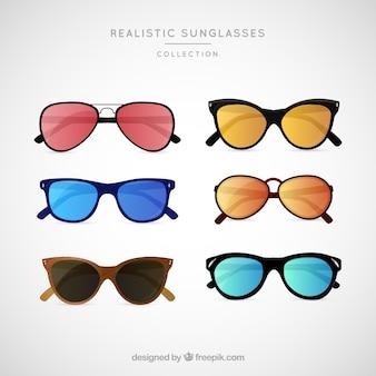 Realistic sunglasses collection