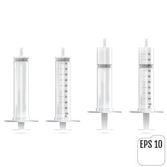 Realistic syringe