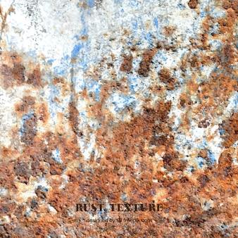 Realistiche texture di un muro arrugginito