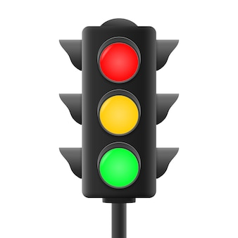 Realistic traffic lights