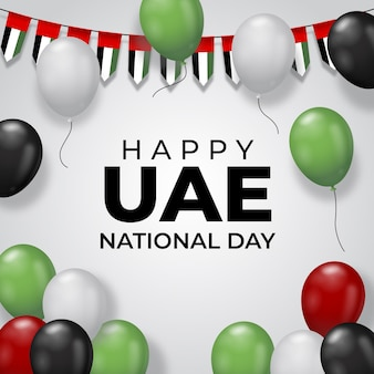 Realistic uae national day