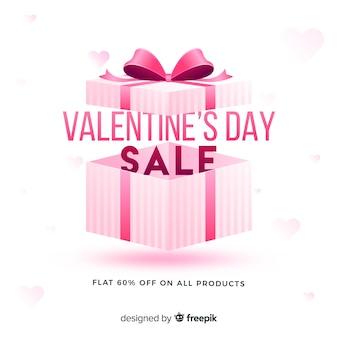 현실적인 발렌타인 판매 배경