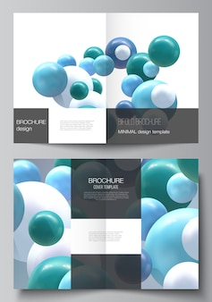 Realistic vector background with multicolored spheres, bubbles, balls