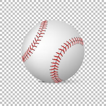 Реалистичные вектор бейсбол изолированы, шаблон дизайна, иллюстрация eps10