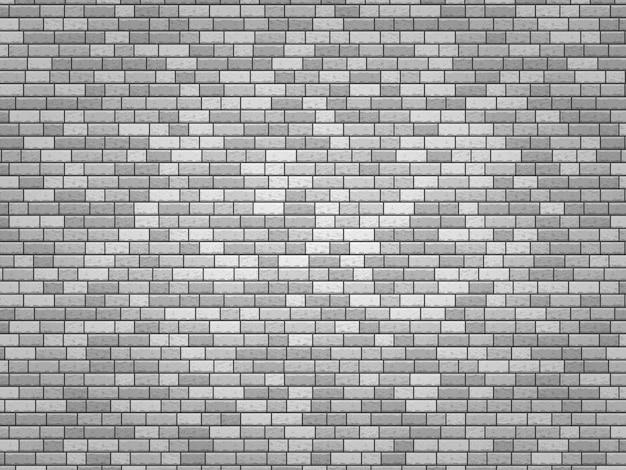 リアルなベクトルレンガの壁白いテクスチャレンガのシームレスな背景セット