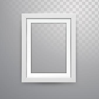 Realistic vector frame mockup