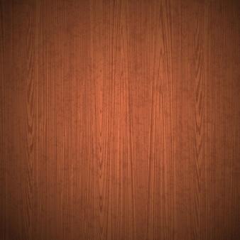 リアルなベクトル木製テーブルの背景上面図木製の床縞模様の茶色の木の質感