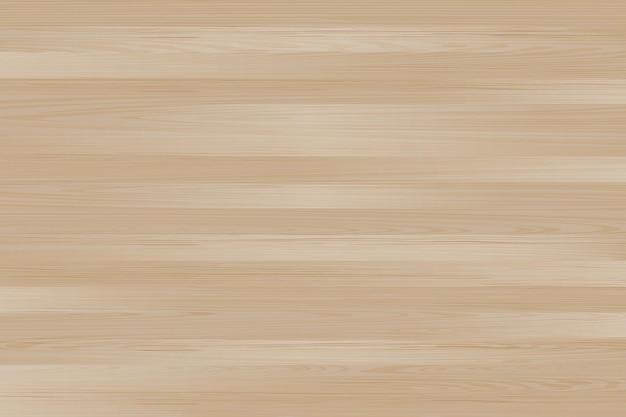 リアルなベクトル木製テーブルの背景上面図木製の床ライトブラウンの松の木のテクスチャモックアップ