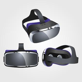 Реалистичная гарнитура виртуальной реальности