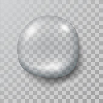 Realistic   water  drop