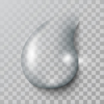 Realistic   water  drop